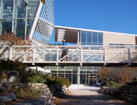 Exterior of the Peggy Notebaert Nature Museum