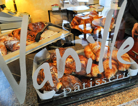 Pastries at Vanille Patisserie